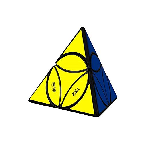 Qiyi Coin Pyraminx tetraedro - Base Negra