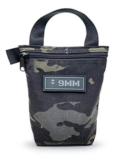 Ammo Bag - Black Multicam (9MM Patch)