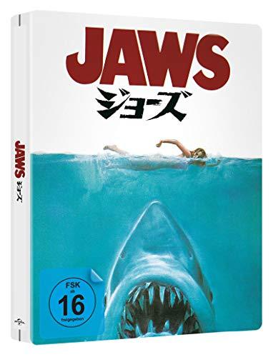 Der weiße Hai - LIMITED STEELBOOK (japanisches Artwork, deutscher Inhalt) (4k UHD + Blu-ray) (exklusiv bei Amazon.de)