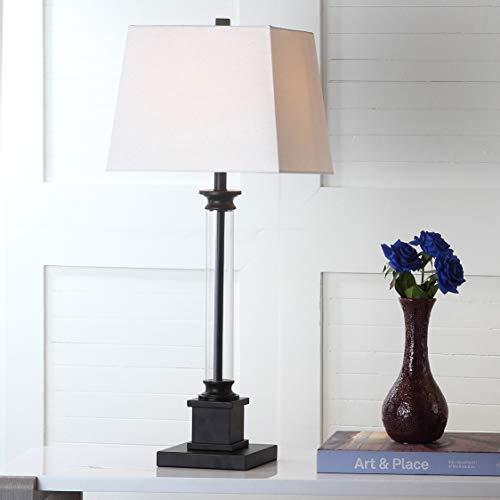 Safavieh Lighting Collection Davis Black 30.5-inch Table Lamp (Set of 2)