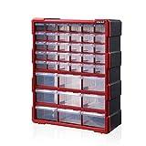 Cassettiera grande con 39 cassetti per attrezzi e oggetti artigianali, scatola degli attrezzi in plastica piccole parti di immagazzinaggio Multi Casket Case,N-15029 Cassetta degli attrezzi,Cina