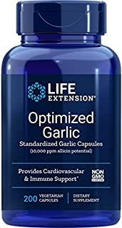 Life Extension Optimized Garlic 200 Vegetarian Capsules