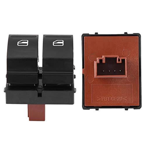 VOFP Interruptor de Ventana 1PCs la Ventana de energía eléctrica de Control del Interruptor de botón for Skoda Octavia Fabia 2 Yeti Roomster 1Z0959858 Piezas duraderas 1Z0 959 858 Durable