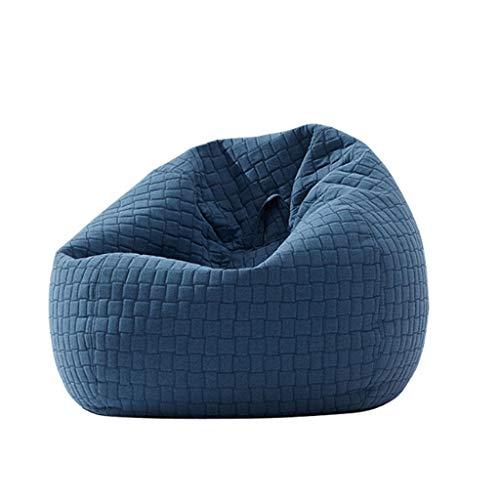 YWSZJ Sofá Perezoso nórdico Simple sofá Individual Dormitorio Moderno sillón de Ocio Sala de Estar Creativa Bolsa de Frijoles