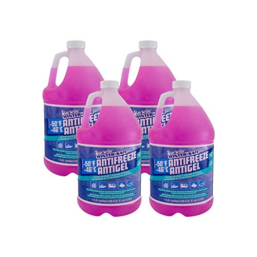 RecPro RV Antifreeze -50°F Protection Non-Toxic (4 Pack)