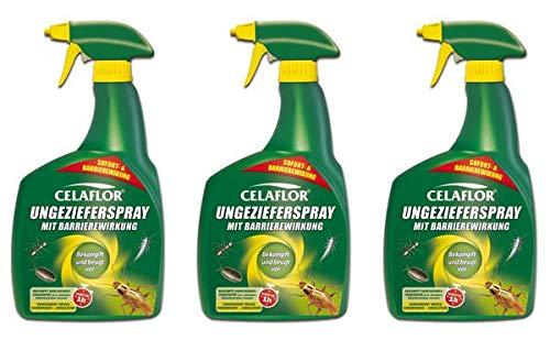Evergreen Garden Care Deutschland GmbH CELAFLOR Ungezieferspray mit Barrierewirkung 2,4 l - Pumpspray zur gezielten Anwendung gegen kriechendes Ungeziefer