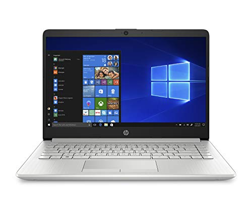HP 14-Inch Laptop, 7th Gen AMD A9-9425, 4 GB SDRAM Memory, 128 GB Solid-State Drive, Windows 10 Home in S...