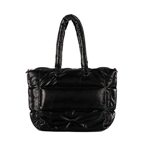 Parfois - Bolso Shopper Acolchado - Mujeres - Tallas M - Negro