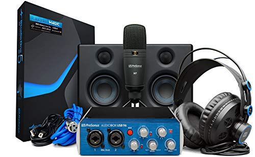 PRESONUS Audiobox Studio Ultimate Bundle Komplette Hardware/Software Aufnahme Kit