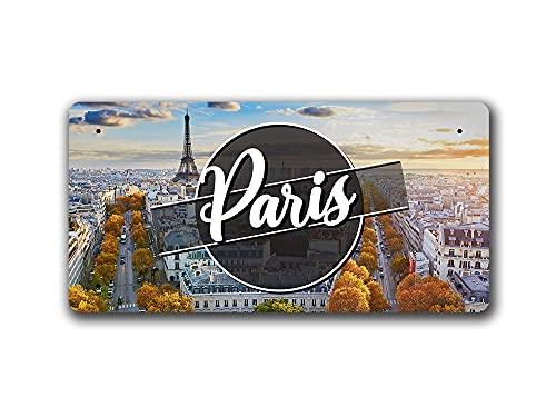 McMug Paris Day Landscape - France - Metal Sign