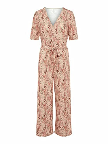 PIECES Female Jumpsuit Cropped MCoral