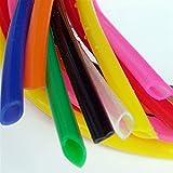Doamt Zmaoyun-PVC Mangueras de conducto 7x9 Tubo DE Silicona Flexible ID de la Manguera de Goma 7MM OD 9mm Espesor 1 mm Conector Suave de Grado alimenticio, Resistente al Desgaste y a la corrosión