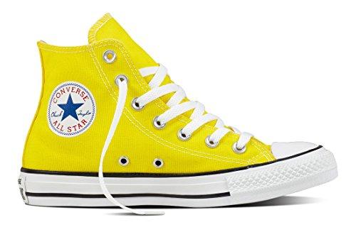 Converse 155565C, Zapatillas Altas Hombre, Amarillo (Fresh Yellow), 42.5 EU