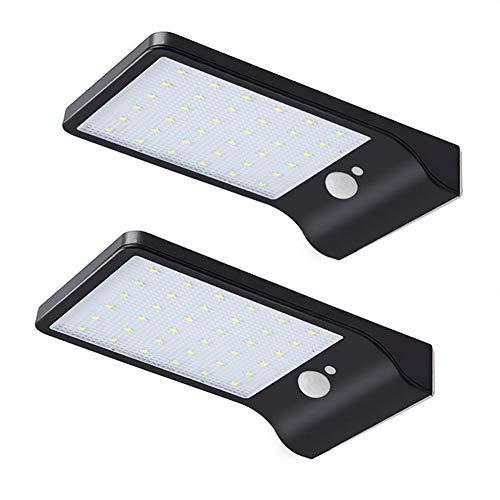 Light Solar wandlampen, 36 LED bewegingssensor, buitenwandlamp, IP65 waterdicht voor hek, patio, plafond, binnenplaats, oprit, looppad, tuin