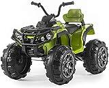 Mondial Toys Moto ELETTRICA per Bambini Super Quad Lander 12V ATV con...