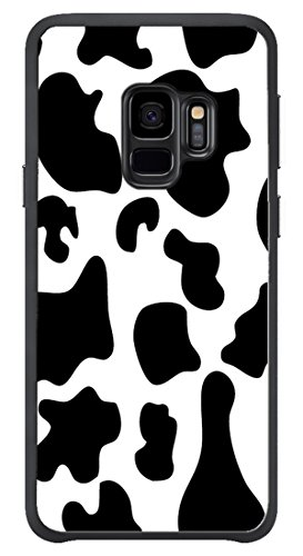 VUTTOO Case for Samsung Galaxy S9(NOT S9 Plus) - Cow Print Case - Shock Absorption Protection Phone Cover Case