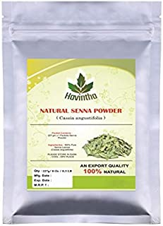 Natural Colorless Henna Powder or Senna Powder for hair (Does Not Color Hair) Product of Havintha,Natural Cassia obovata 227g