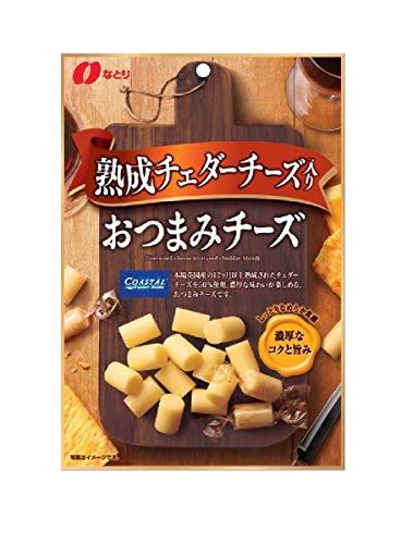 なとりおつまみチーズ熟成チェダーチーズ入り62g×5袋