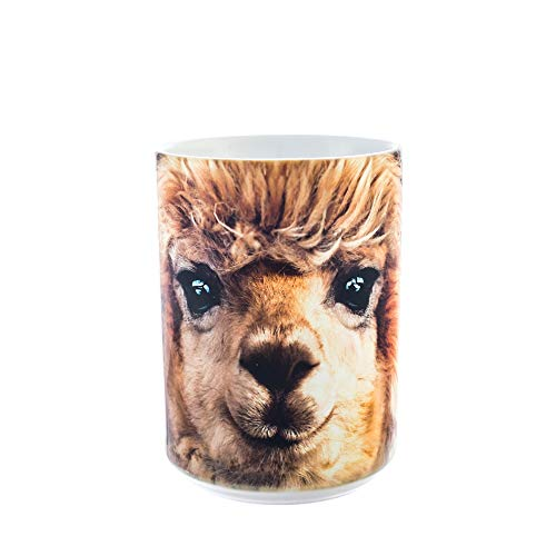 The Mountain Keramikbecher Big Face Alpaca