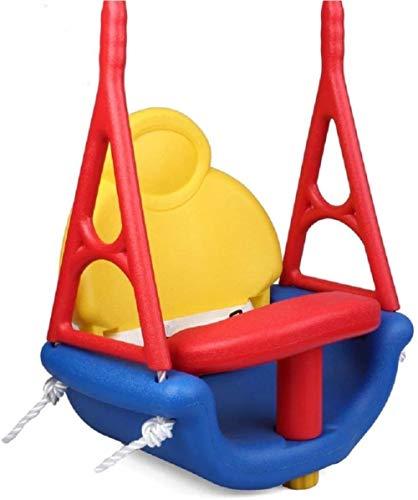 Oscilación de los niños Niños Jóvenes del swing Asiento adecuado for el hogar Jardín Uso de gimnasio 30x20x44CM Sistemas y Oscilaciones (Color: Multicolor, Tamaño: 30x20x44CM), talla: 30x20x44CM, Mult