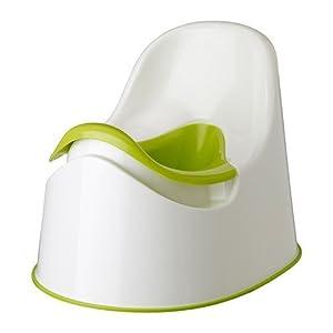 Ikea Orinal para Niños, Plástico, Blanco, 36x29x28 cm