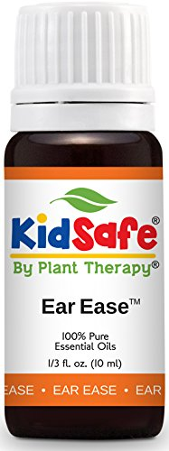 Plant Therapy KidSafe Ear Ease Synergy Essential Oil Pre-Diluted 10 mL (1/3 oz) 100% Pure,...