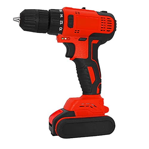 Atornillador Drill Para Profesionala, Llave De Impacto Con Batería Electrico Impacto Pistola...