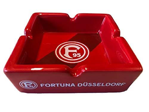 Fortuna Düsseldorf Aschenbecher rot