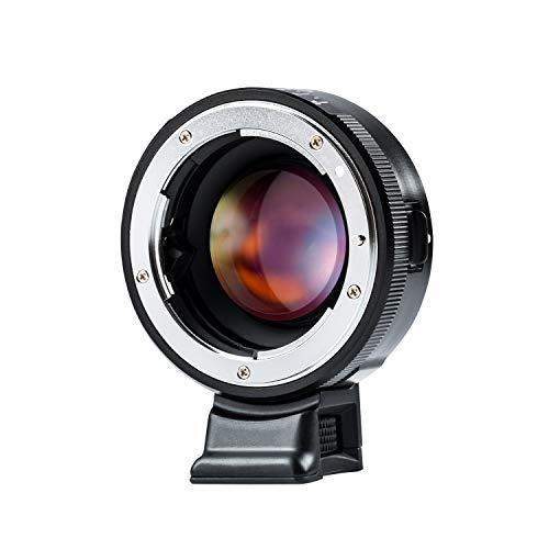 VILTROX マウントアダプター NF-E 0.71x スピードブースター マニュアルフォーカス レンズアダプター Nikon Fシリーズレンズ→ソニーEマウント変換 a9/a7/a7RIII/a6500/a6300/a6000/NEXなど適用