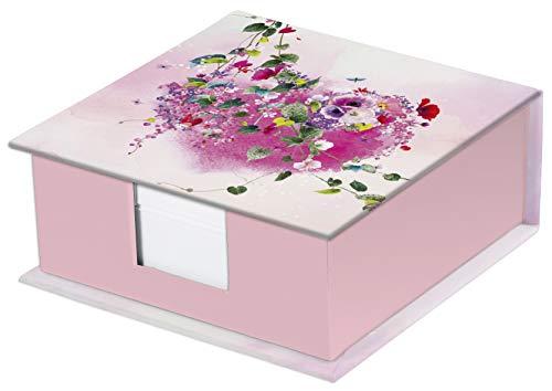 Clairefontaine 83383C – Een blok kubus Tropical Dream, 11 x 11 x 5 cm, 320 vellen effen