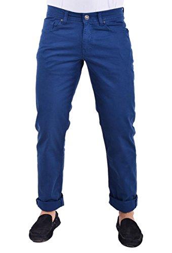 GALVANNI Neddy Pantalones, Azul (Moroccan Blue), 38 para Hombre
