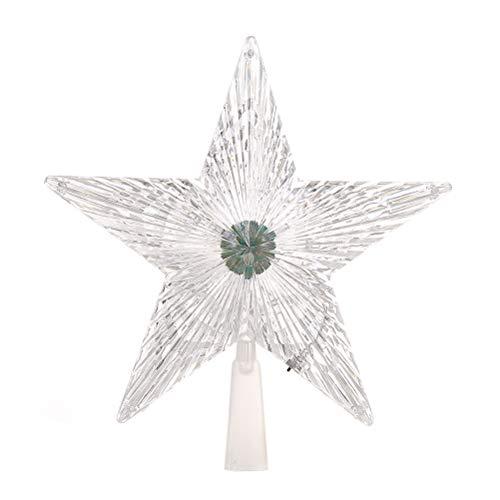 60cm avec éclairage 10 Leds Avec Minuterie LED de Noël étoile de Noël étoile ø env