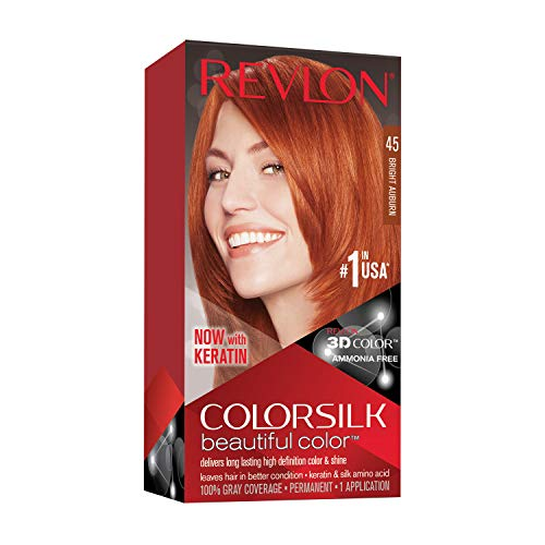 Revlon ColorSilk Beautiful Color, Bright Auburn