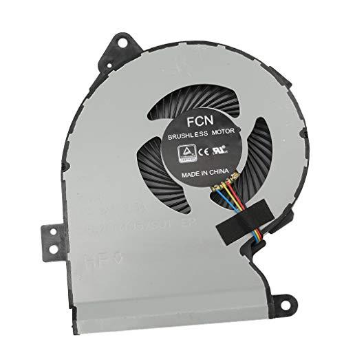 mailfoulen - Ventilador de refrigeración para ordenador portátil Asus X540 X540LJ X540SA X540Lj X540YA X540UP