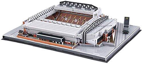 3D Stadion Puzzle, Liverpool Anfield Stadium Modell, Souvenirdiy Puzzle (16'x 12' x 4')