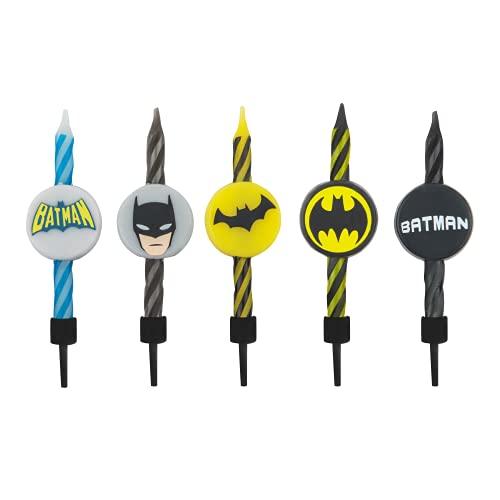 DC Comics - Bougies d anniversaire Batman (Set de 10) - Cinereplicas    Amazon:  Cineréplicas Lot de 10 Bougies d anniversaire Batman. DC Bandes dessinées.