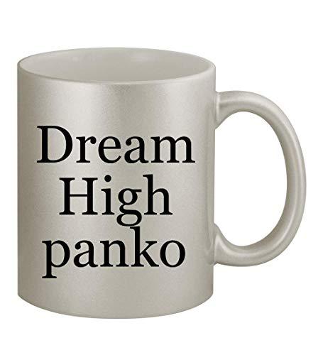 Dream High panko - 11oz Silver Coffee Mug Cup, Silver
