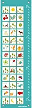 Oopsy Daisy Everything ABC-Blue Growth Chart, 12 x 42