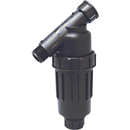 """One Stop Outdoor 3/4"""" Drip Irrigation/Hydroponics Y Filter with 155 Mesh Screen - 3/4"""" FHT X 3/4"""" MHT Hose Thread Connections"""