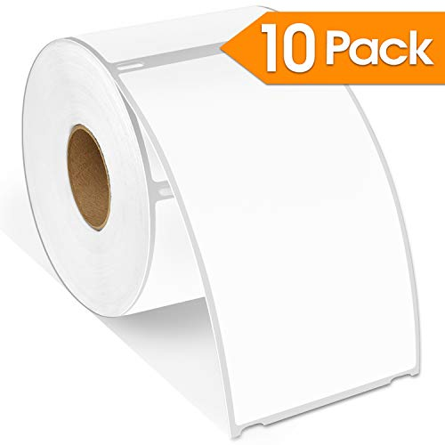 """Spartan Industrial - DYMO-Compatible 30256 Shipping Labels 2-5/16"""" X 4� Replacement for DYMO 30256 Labels (10 Pack)"""