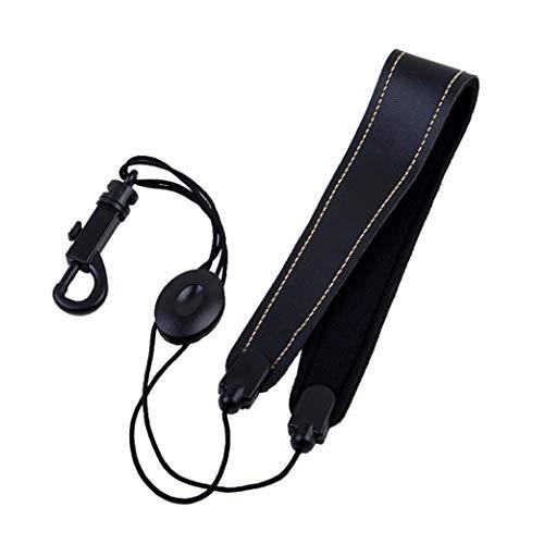 YZLSM Saxophon-bügel-universal-Adjustable Schulter-Ansatz Weich Gepolstertes Schwarz Für Spieler Musikinstrument Versorgung