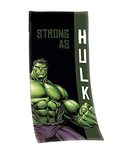 Herding Hulk Handtuch, Polyester, Grün/Schwarz, 50 x 110 cm, 15 cm