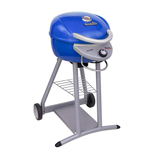 Char-Broil 20602107-01 Patio Bistro TRU-Infrared Electric Grill, Blue