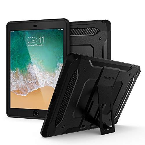 Spigen Tough Armor TECH Designed For iPad 9.7 Inch Case (2018/2017) - Black