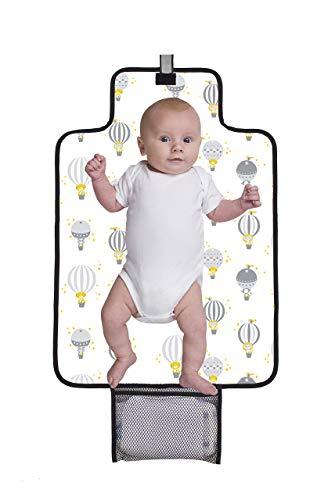 Baby Polar Gear - Materassino fasciatoio portatile, motivo palloncini