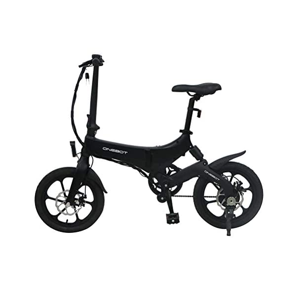 """Electric Bikes Bestice Electric Bikes for Adult ONEBOT S6 16"""" Foldable E-Bike 36V 6.4Ah 250W 25KM/h Electric Bikes Adjustable Lightweight Magnesium Alloy Frame E-Bike for Sports Cycling Travel Commuting [tag]"""