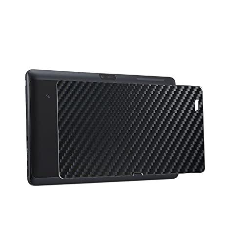 """Vaxson 2 Unidades Protector de pantalla Posterior, compatible con Dell Venue 11 7000 (7130 Pro / 7139 Pro) 10.8"""", Película Protectora Skin Piel Negro [No Carcasa Case ]"""