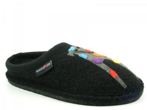 Haflinger Flair Felix 313034 Pantofole donna, schuhgröße_1:38 EU;Farbe:noir