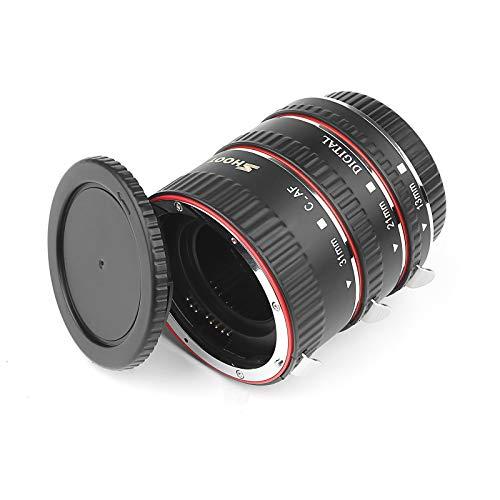 SHOOT AF Autofokus Makro Verlängerungsröhrchen Set für Canon EOS EF EF ESEN Objektiv DSLR Kameras 1100D 700D 650D 600D 550D 500D 450D 400D 300D 300D 100D 70D