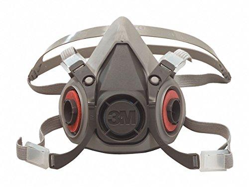 3m mascaras 3M Safety 142-6100 6000 Series, Small Reusable Half Face Mask Respirator